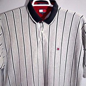 Tommy Hilfiger men's XXL polo shirt Flag logo